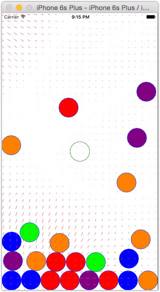 dropit-spheres-in-noise-field